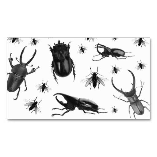 Pest Control Business Card Cockroach Flies Zazzle Com Pest Control Pest Inspection Pest Management