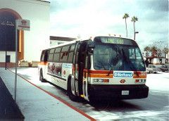 1301 Rts At Union Station Bus Union Station Los Angeles California