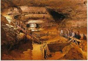 Mammoth Cave Kentucky.