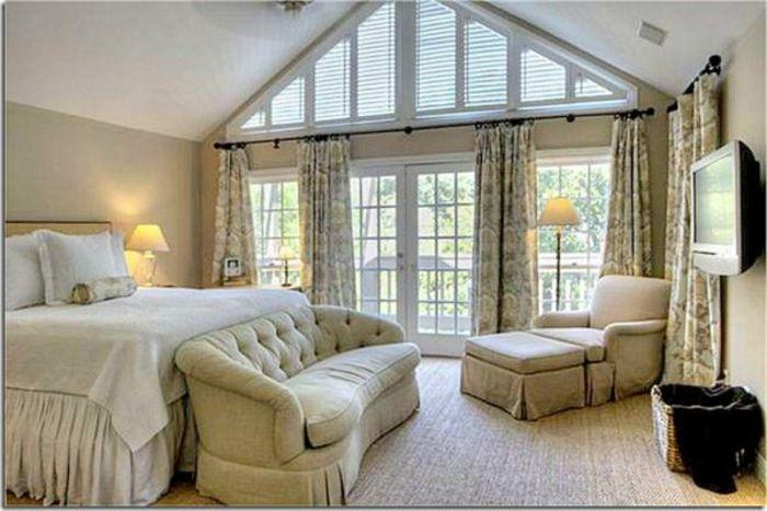Gardinen Für Dachgeschoss Und Dreieckfenster Mit Rolläden