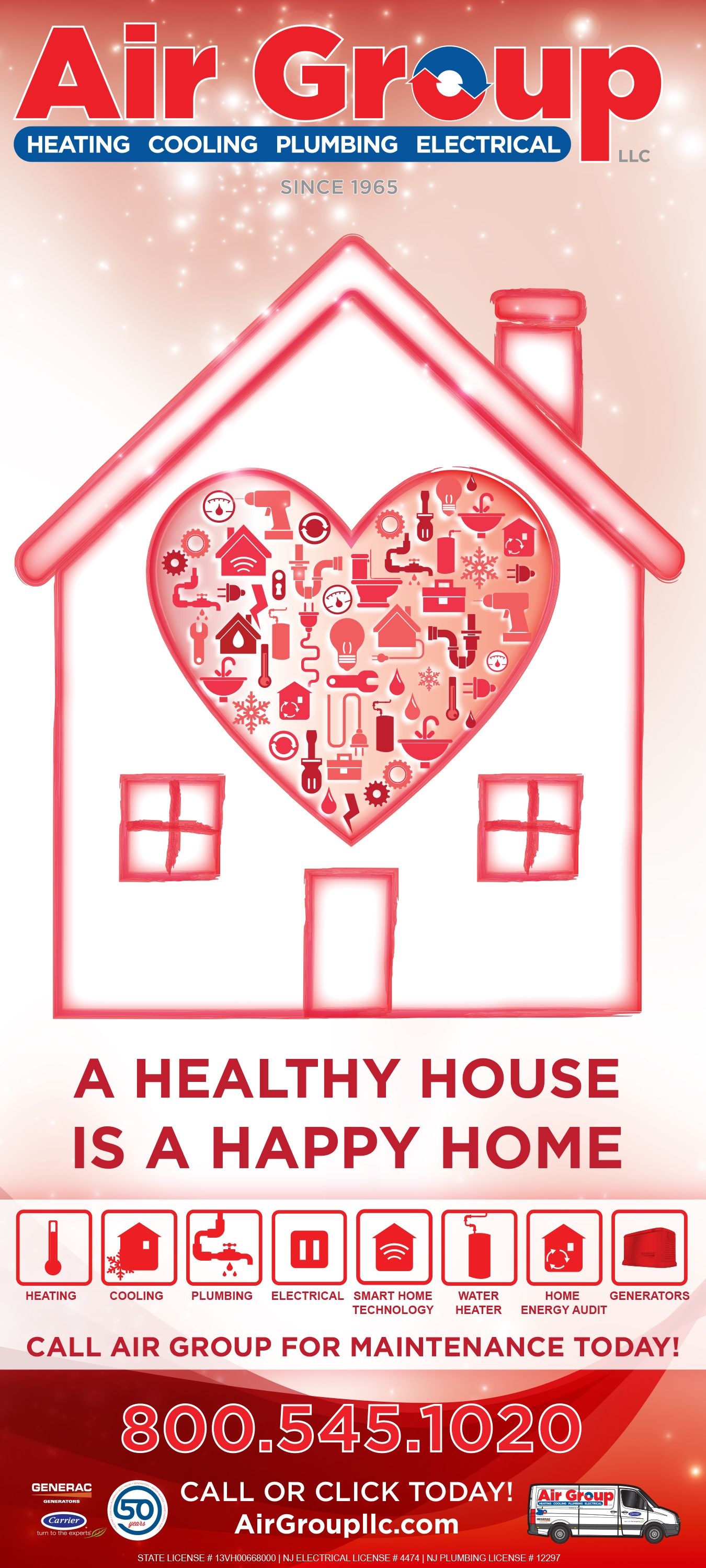 A Healthy House Is A Happy Home Print Ad February 2017 Print