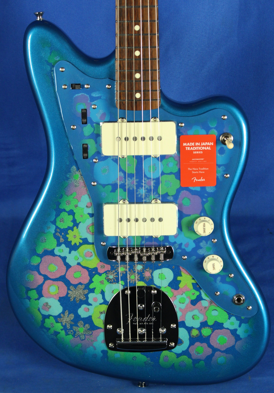Fender Japan MIJ Traditional 60s Jazzmaster Blue Flower