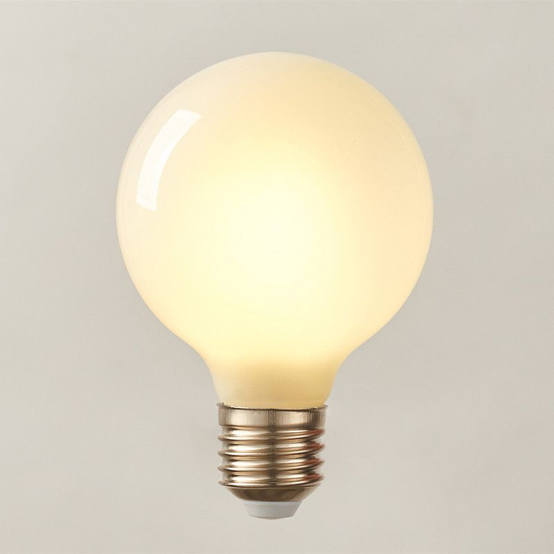 Find More Led Bulbs Tubes Information About Milk White Led Bulbs Light G80 G95 G125 E27 Retro For Filament Light Vin Vintage Globe Lamps Led Bulb Globe Lamps