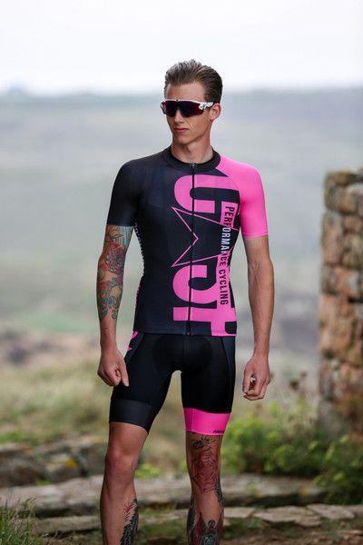 Black Pink Jersey Cycling Jersey Design Biking Outfit Cycling