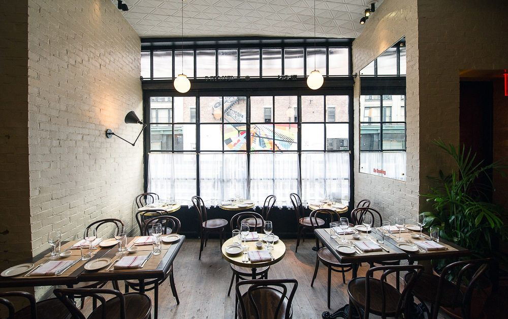 krieger earlier this week ken cook opened in the kenmare street space that most recently housed clubrestaurant travertine - Travertine Restaurant Ideas