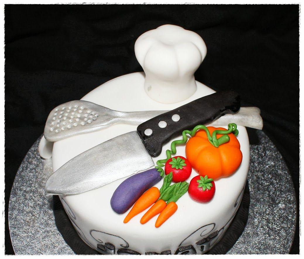 Tortas decoradas de chef de cocina buscar con google for Elementos de cocina para chef
