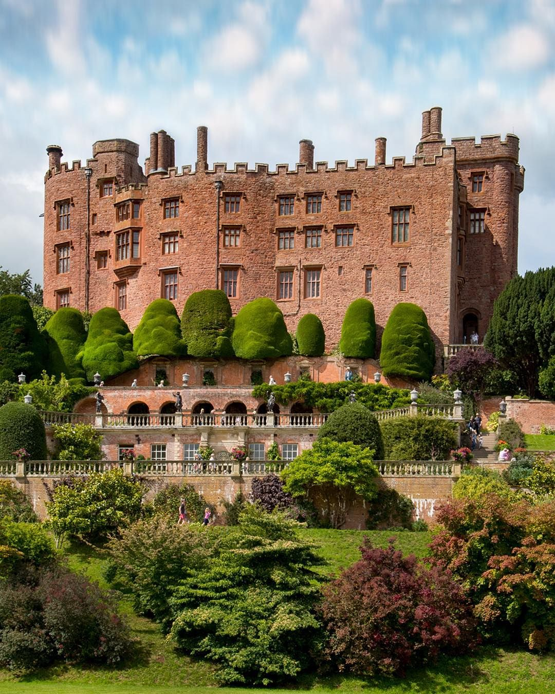 Powis Castle and Gardens in Wales | photosofbritain on instagram ...
