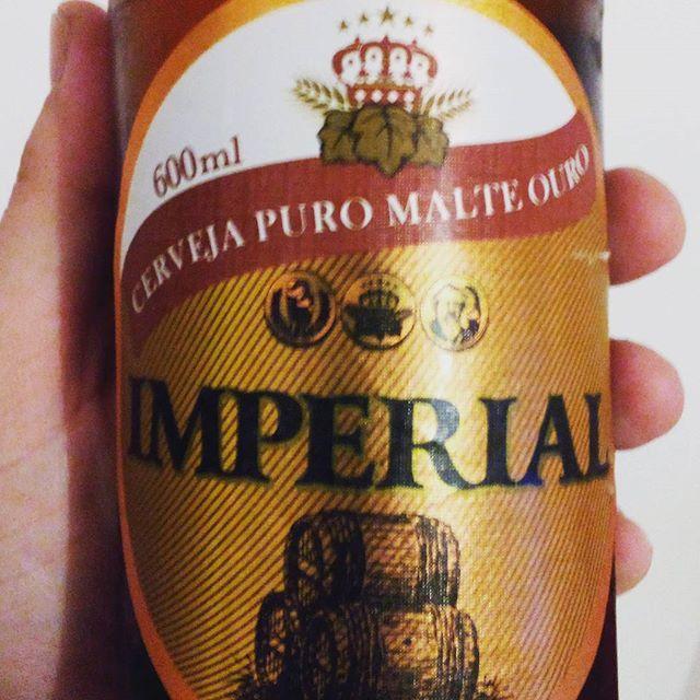Cerveja do imperador?