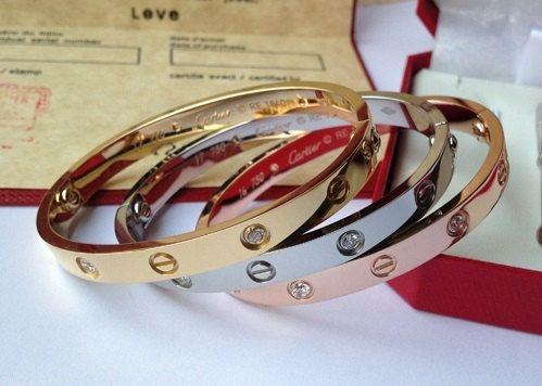 b0e3bf3f51e Knock-off Cartier love bracelet by hondaali on Etsy