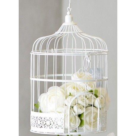 Cage Deco Blanche