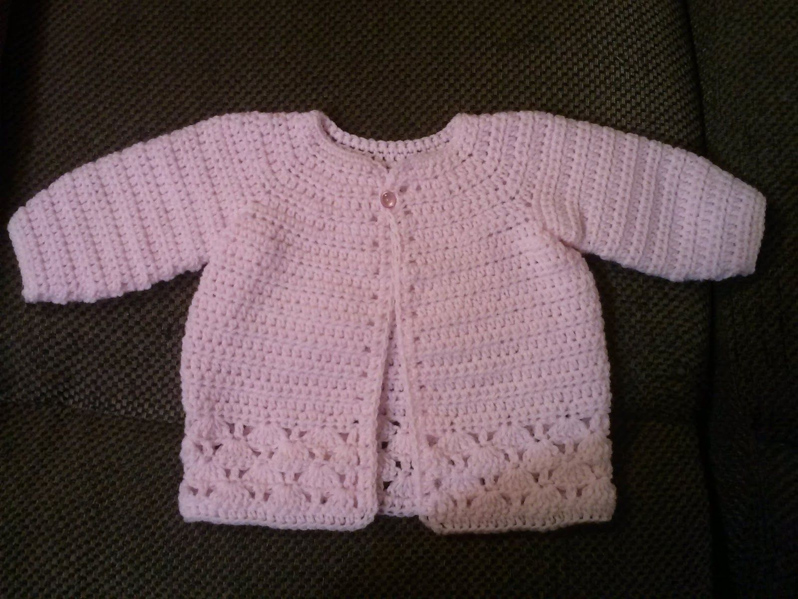 Family, Books and Crochet...Oh My!: Pretty In Pink Sweater - Free ...
