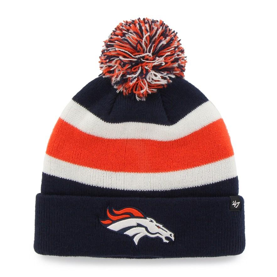 0f64814700634 Adult  47 Brand Denver Broncos Breakaway Beanie