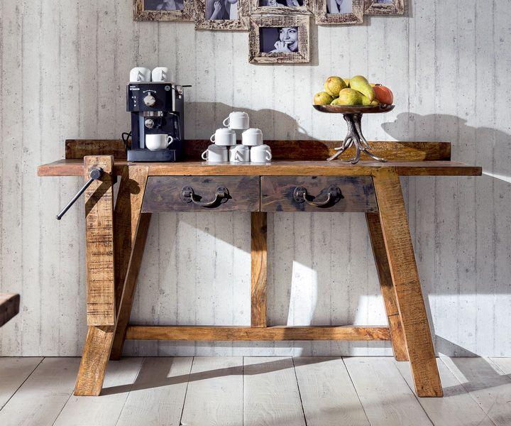unikat konsolentisch vintage style m bel in 2019 konsole tisch und m bel. Black Bedroom Furniture Sets. Home Design Ideas