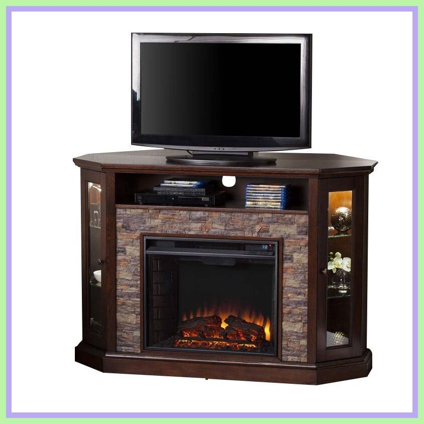 83 Reference Of Corner Fireplace Tv Stand Plans In 2020