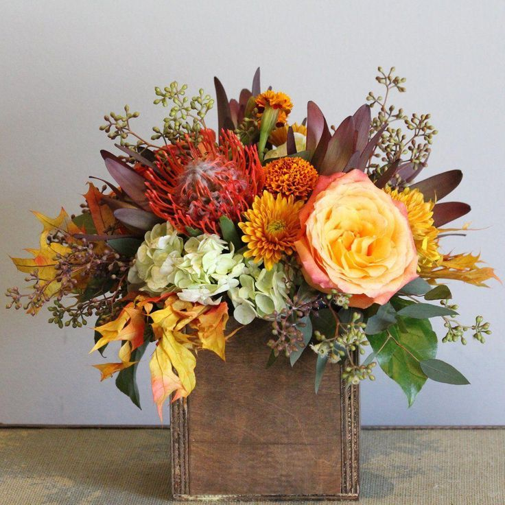 Natural Harvest Thanksgiving flowers, Fresh flowers