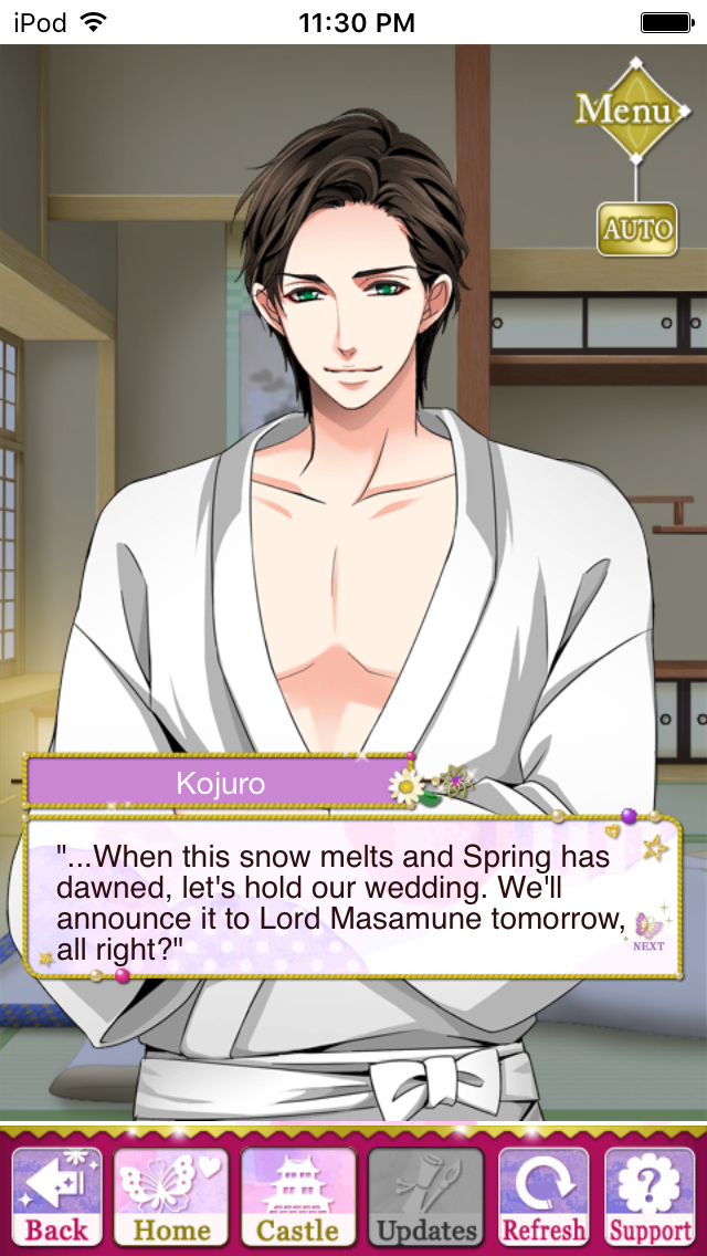 THE BONDS OF LOVE STORY EVENT- KOJURO STORY EVENT #SamuraiLoveBalladParty