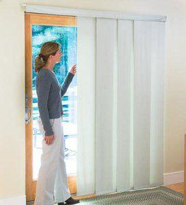 Adding Blinds To Sliding Glass Doors Vertical Blinds Alternative
