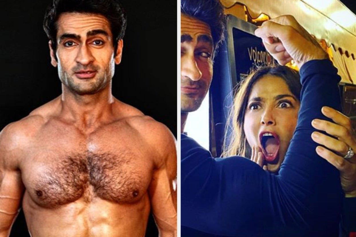 Salma Hayek Reacts To Kumail Nanjiani's Incredible Fitness Transformation!        Salma Hayek Reacts...