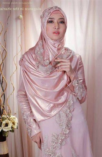 Model Gaun Pengantin Muslimah Terbaru Dan Syar I Muslim Bridal