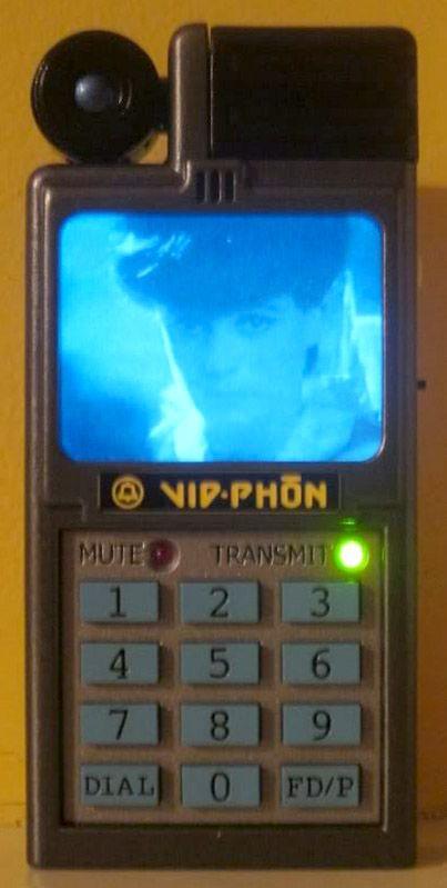 retro futuristic blade runner vid-phon