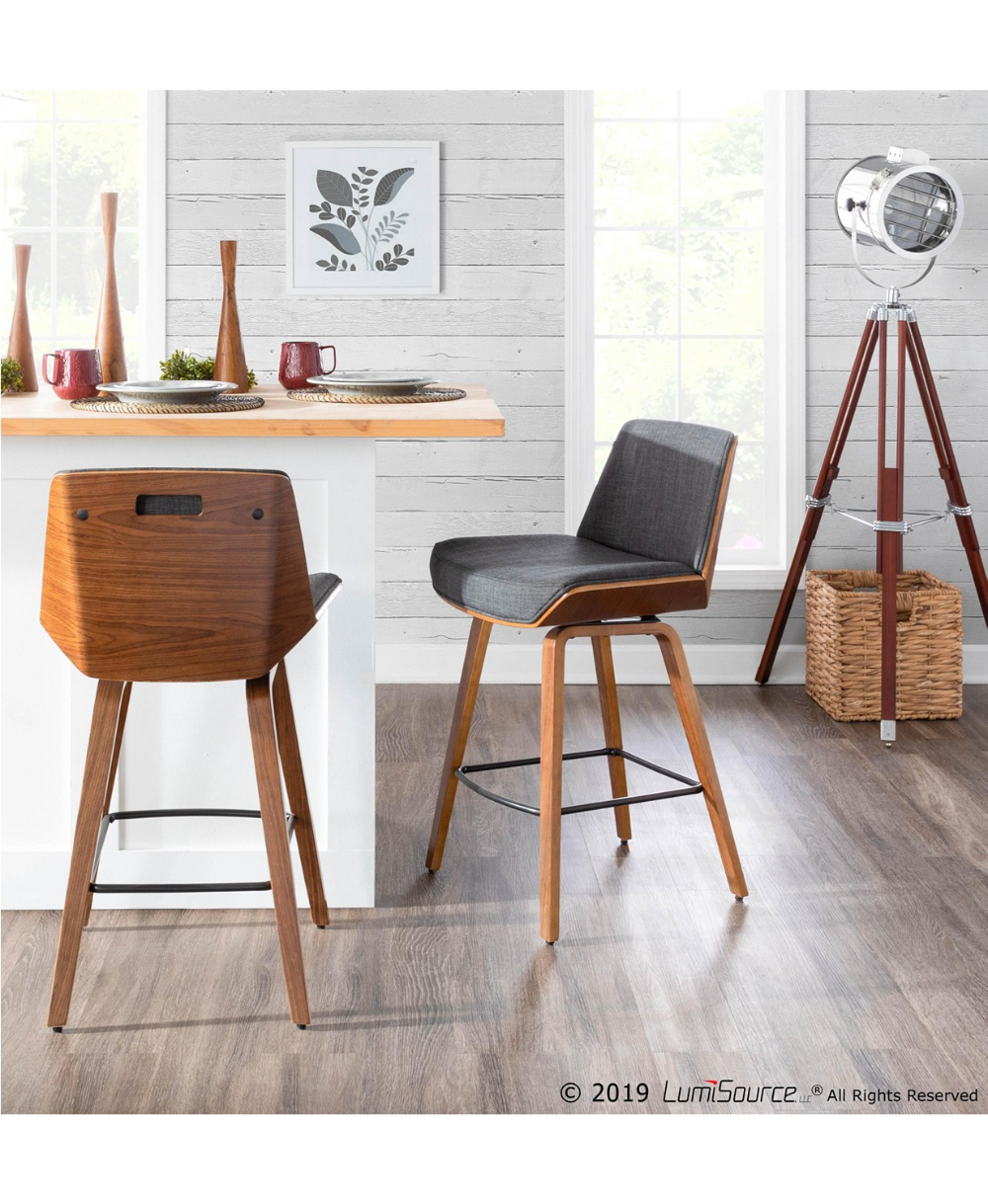 Lumisource Corazza Counter Stool & Reviews   Furniture   Macy's in ...