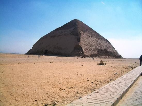 A view of #Black #Pyramid in #Dahshur Egypt by Egypt Car Hire for booking visit egyptcarsrental.com