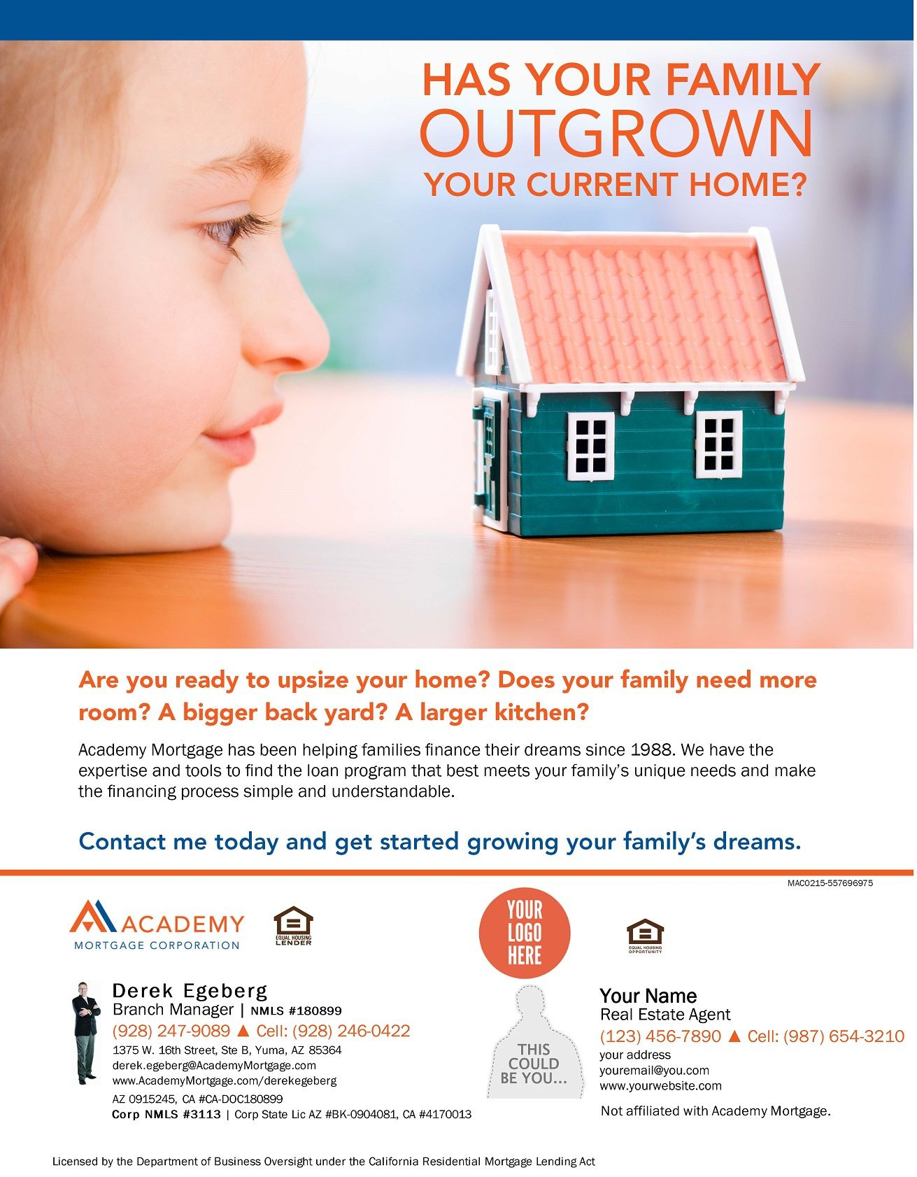 Has Your Family Outgrown Your Current Home Mortgage Marketing Family Finance Mortgage