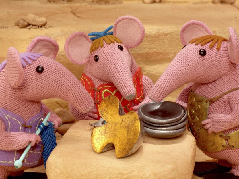 Clangers return with free knitting pattern | Tejidos de punto ...