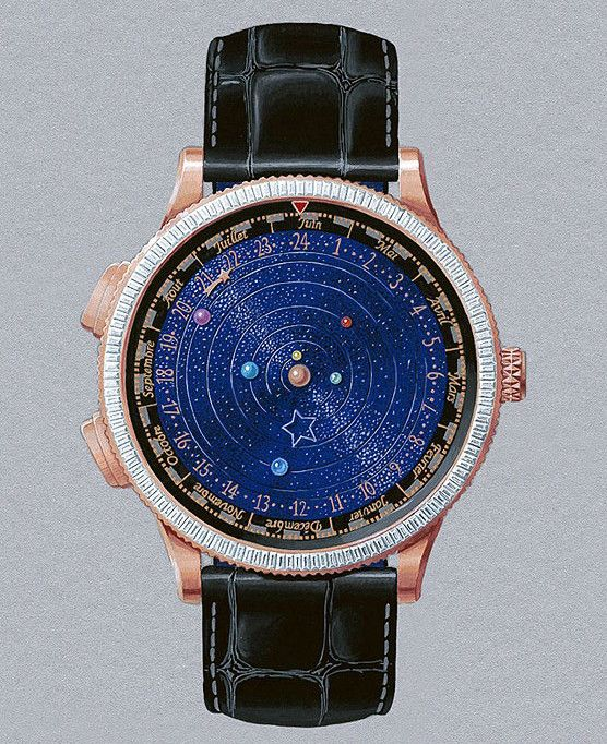Van Cleef & Arpels Midnight Planétarium Poetic Complication With A Starry Night Dial