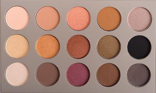 "purematte: "" MAC x Brooke Shields Gravitas Eyeshadow Palette """