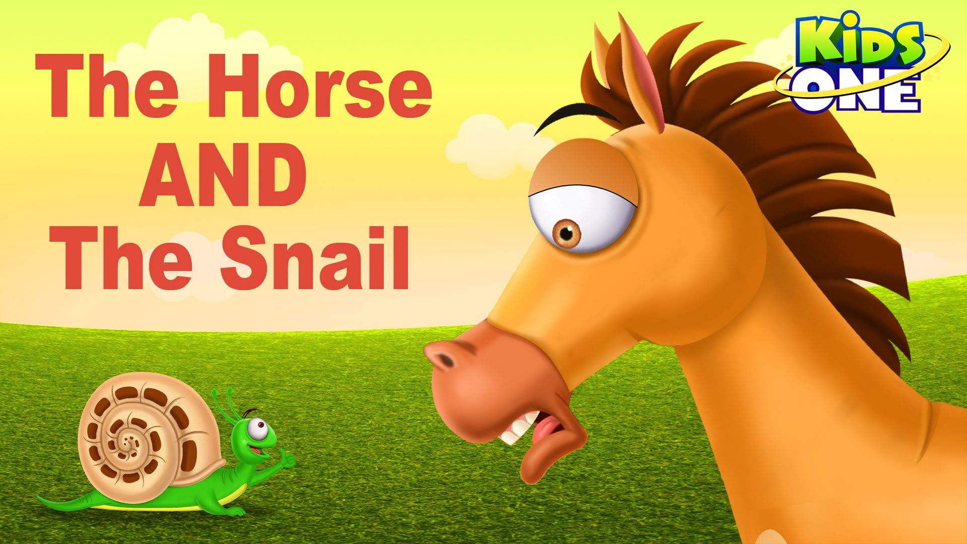 The Horse And The Snail