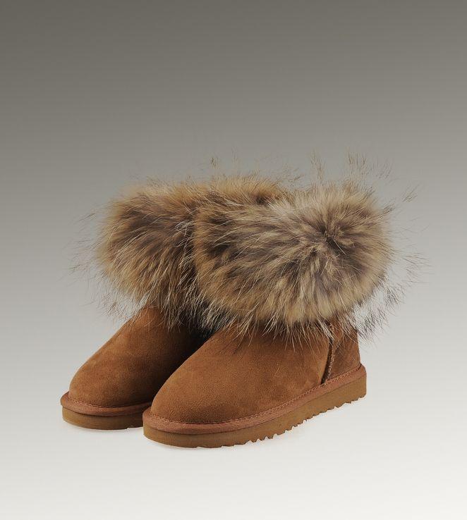 ad5ccc82476 Ugg Fox Fur Mini 5854 Boots [UG0000000153] - $141.00 : | EPIC ...