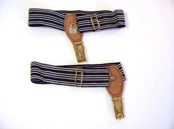 vtg men's sock garters