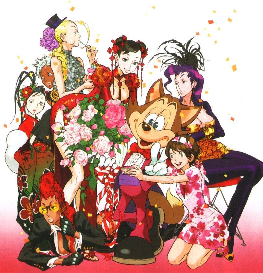 Character designers: Kinu Nishimura - Capcom artist