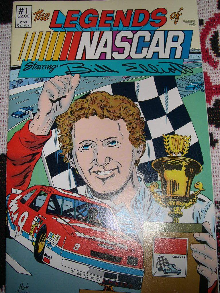 1988 Bill Elliott comic