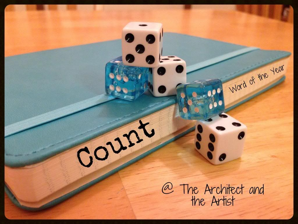 Count {Word of the Year in Review}--What really counts/matters in life