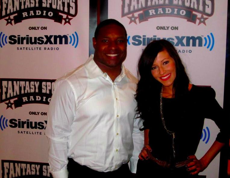 Kay Adams, Sirius XM Fantasy Radio 2012 Kay Adams