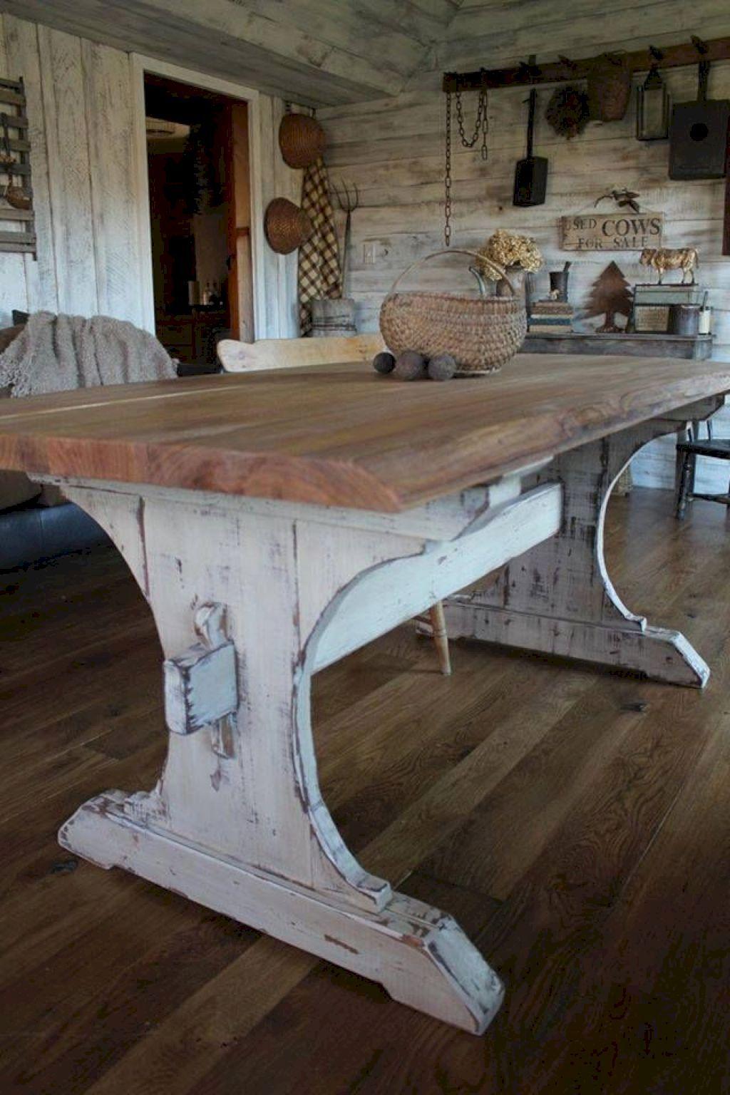 24 elegant and classic rustic furniture ideas