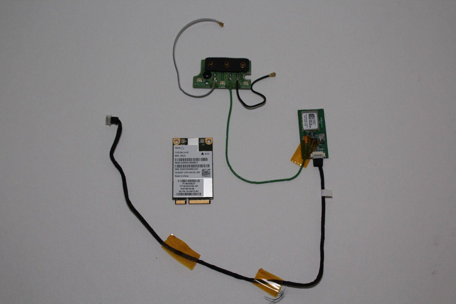Dell Latitude E6420 XFR Augmentix GPS 64N5X ANTENNA 84DC8 and WWAN
