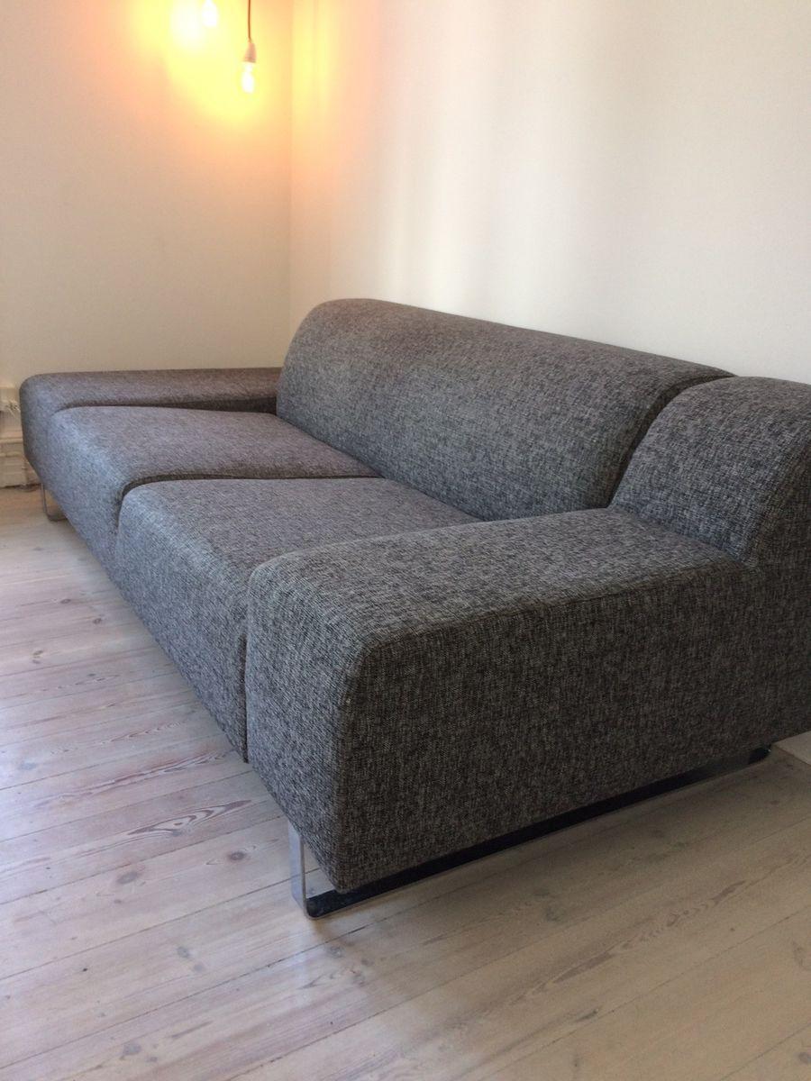 Nice Sofa, stof, 3 pers. – dba.dk – Køb og Salg af Nyt og Brugt KG38