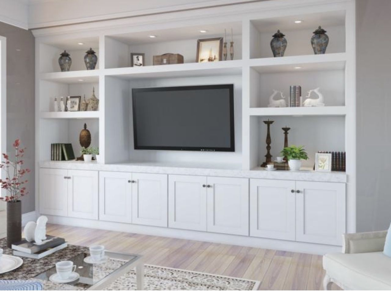 Built Ins In 2020 Tv Room Design Built In Shelves Living Room Living Room Wall Units #white #living #room #wall #units