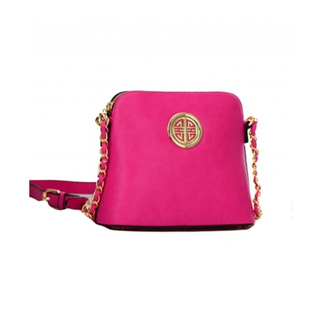 Stand out from the crowd and make them believe that you are special Women's Pink Mess... Check what we have for you !  http://ladieswishlist.com/products/womens-pink-messenger-bag-with-gold-circle-accent?utm_campaign=social_autopilot&utm_source=pin&utm_medium=pin