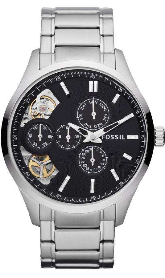FOSSIL Dress Twist Stainless Steel Watch, Fossil Watch Men