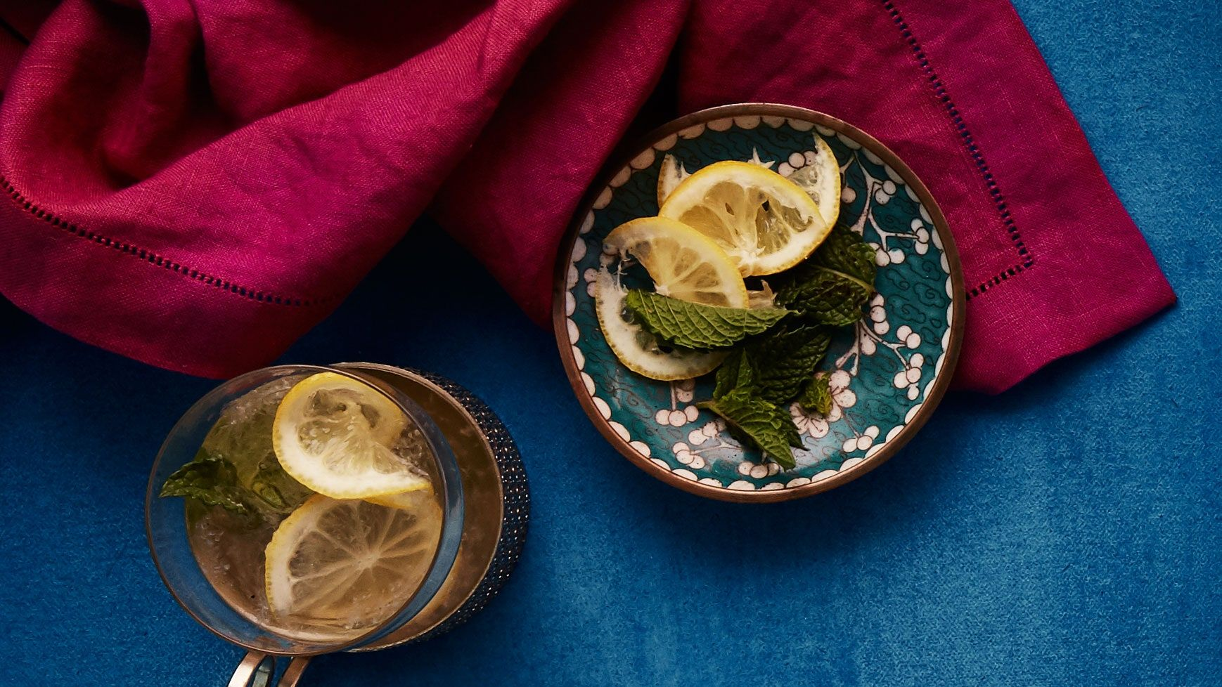 Photo of Gin and Mint Tea Cocktail Recipe