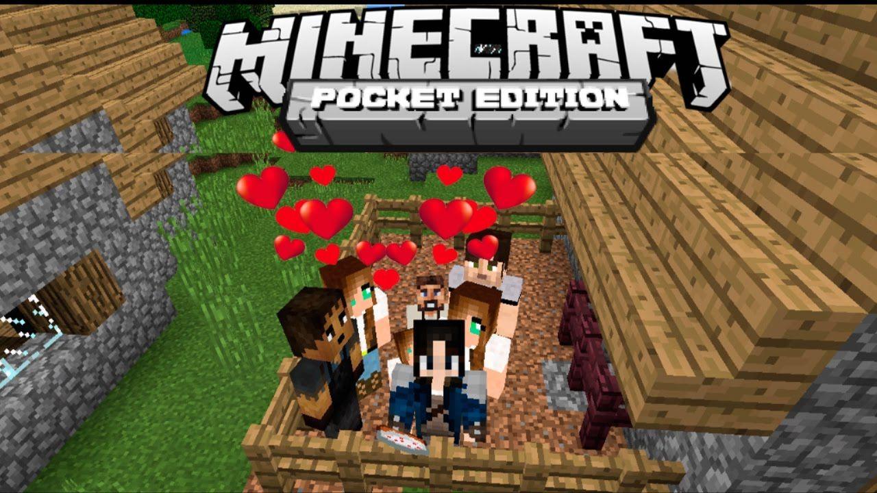 COMO TENER NOVIA E HIJOS EN MINECRAFT PE COMES ALIVE ADDON - Descargar skin para minecraft pc gamer demo
