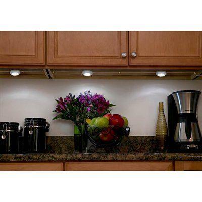 Puck Lights Utilitech Pro 2 5 In Plug Under Cabinet 3 Light Led