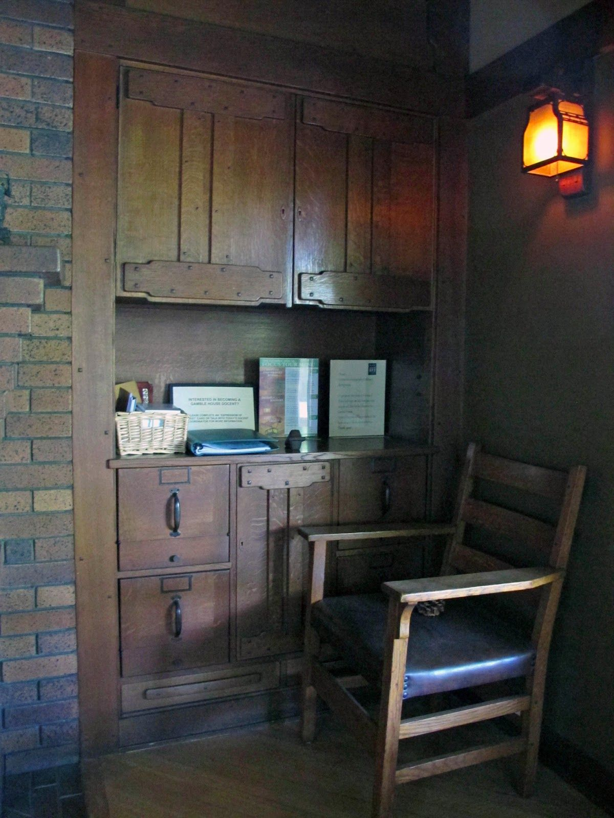 Gamble house interior - Greene and Greene - Arts and Crafts ...