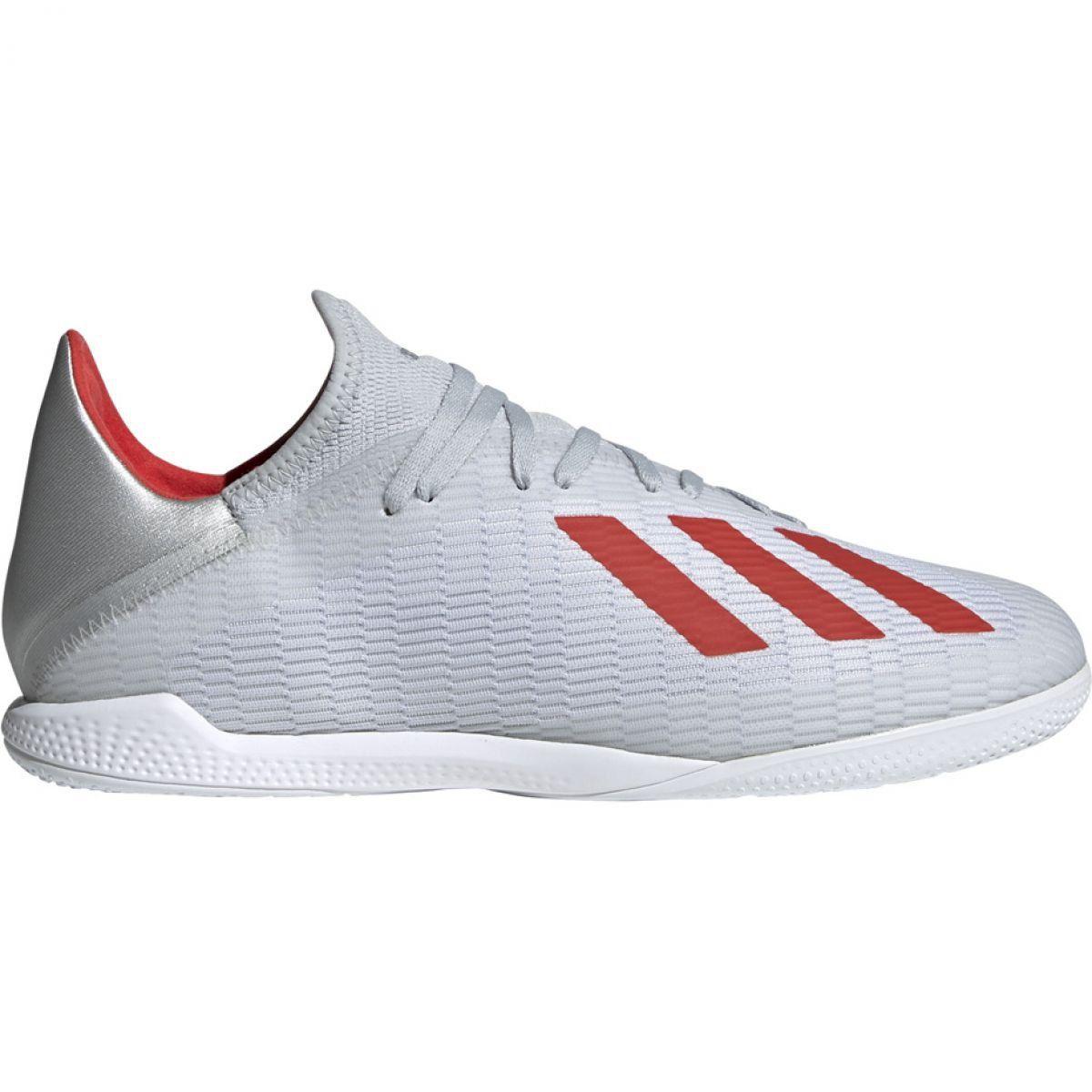 Buty Halowe Adidas X 19 3 In M F35370 Biale Wielokolorowe Indoor Shoe Adidas Shoes