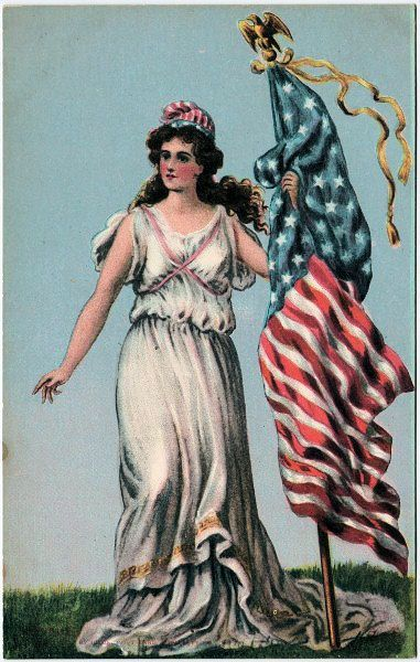 8 Pictures of Lady Liberty! | 4th of July Vintage ...