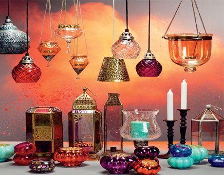 Warme kleuren van het Indiase interieur | mooie foto\'s | Pinterest